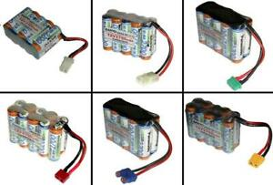 Wedico Scaleart Akkupack, Panasonic AA 12V2700 mAh / mehrere Optionen...