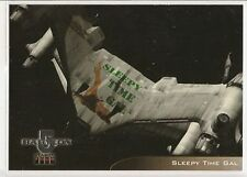 Babylon 5 Season 4 Trading Cards Starfury Aviation Art Chase Card V4 Sleepy Time