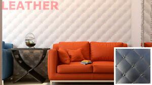 Leather - Quality Plastic Press Mold Production Of 3d Panels Wall Pour Aider à DigéRer Les Aliments Gras