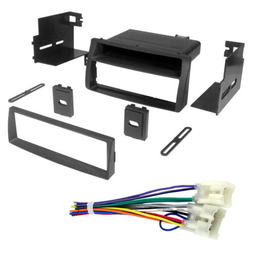 AI-TOYK960 Car Stereo Single Din Radio Install Dash Kit /& Wires for Corolla