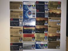 Lot of 24 Vintage Expired Visa Credit / Debit / Check Cards for Collectors