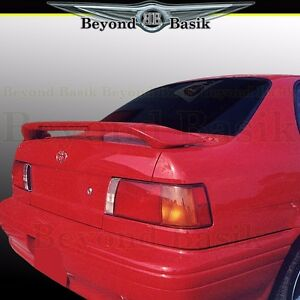 for 1991 1994 toyota tercel custom style rear trunk spoiler wing w light primer ebay details about for 1991 1994 toyota tercel custom style rear trunk spoiler wing w light primer