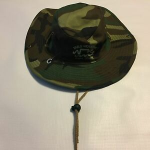 NWOT Mens Table Mountain South Africa Cape Town Camo Bucket Hat Cap ... a3157cc3645