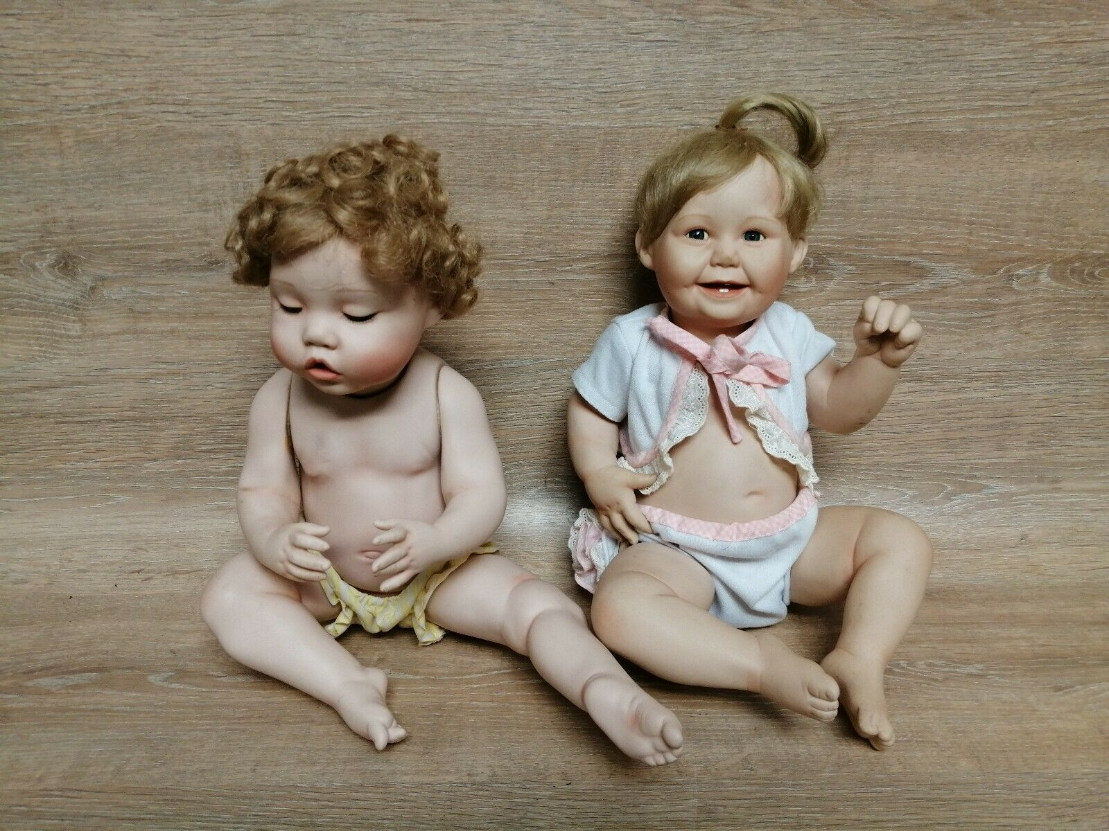 Bisque Doll Cute As A Button Girl Ashton Drake 1993-1994