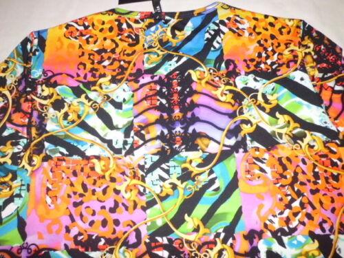 T Taille Versace Multicolor Jersey M Versus Shirt SqpfxEFqw