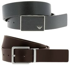 e21ca95cfa91 Emporio Armani 2x Buckle Reversible Black   Dark Brown Belt Gift Set Box  Y4S225