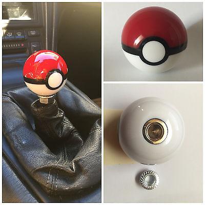Pokemon Pokeball Shift Knob BALL TOYOTA SCION LEXUS wrx sti 12X1.25 12 x 1.25