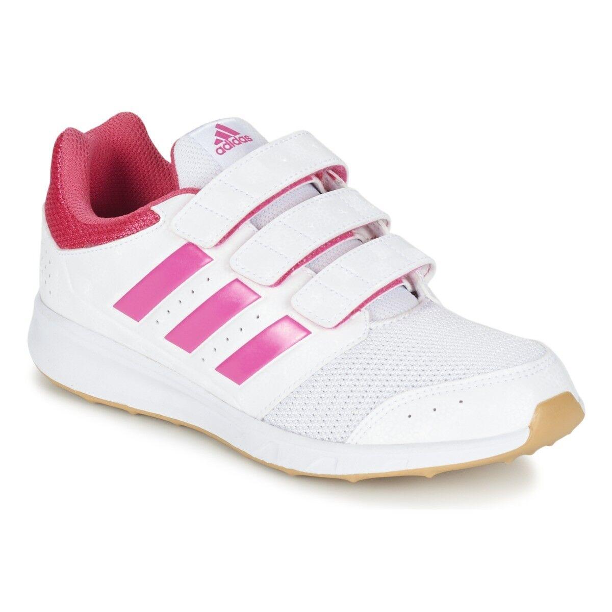 Adidas LK Sport 2 CF K Lányok Gyerekek Junior Sport Edzőcipők Fehér Rózsaszín AQ4781