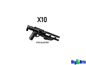 x10 Lot DT-20 Blaster for Star Wars Lego Minifigure