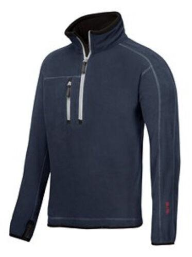 Snickers 8013 A.I.S Half Zip Fleece Workwear Jumper BRAND NEW FOR WINTER 2014