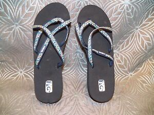 New Womens Teva Mush Mandalyn Wedge Ola 2 Mosaic Blue Strappy ... a4b53e6297ea
