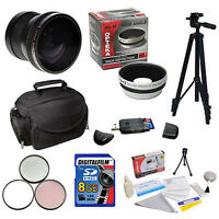 8gb Essential Accessories Kit F Nikon D3100 D5100 D5000