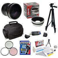8gb Essential Accessories Kit F Nikon D3100 D5100 D5000