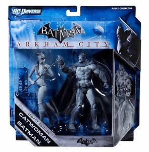 Univers Batman Arkham City Catwoman & Set Legacy Edition Nouveau 746775162399
