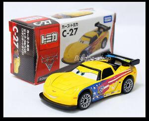 Tomica Disney C 27 Cars 2 Jeff Gorvette Tomy Takara Diecast Car Ebay