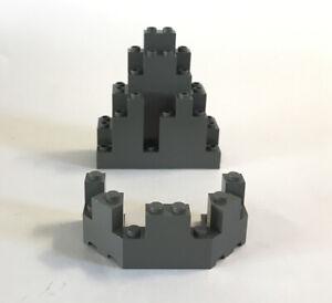 Lego Duplo Item Trailer 2 Wheel 2x4x2x4 black