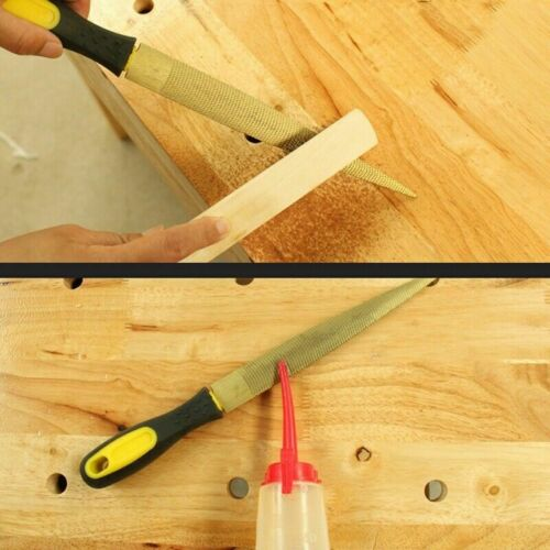 4PCS Woodworking Carving Rasp File Carpenter Tool For Soft Hard Wood 4-10inch