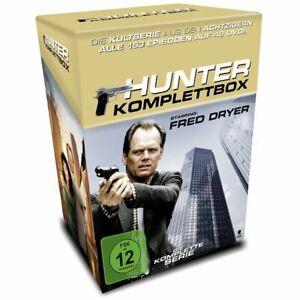 DVD-Hunter-Gnadenlose-Jagd-Staffel-1-7-Komplettbo-season-1-to-7