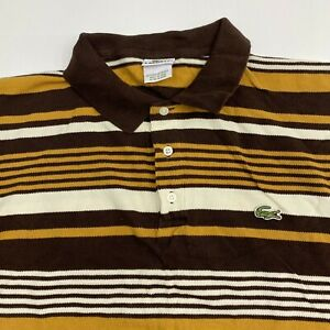 Lacoste-Polo-Shirt-Mens-12-Multicolor-Stripe-Short-Sleeve-Casual