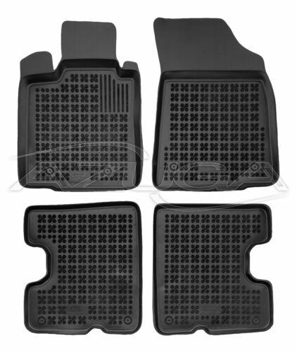 3D Gummi-Fußmatten für Dacia Sandero 2008-2012 Hohe Gummimatten Automatten