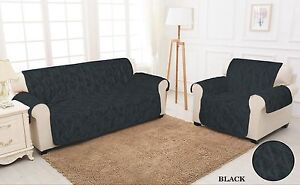 Sofa Slip Covers Quilted Jacquard 1 2 3 Seater Sofa Cover Pet