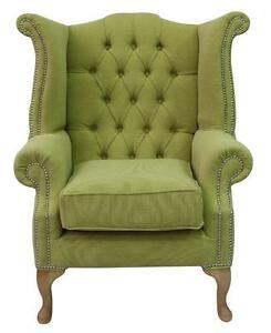 Chesterfield-Queen-Anne-High-Back-Fireside-Wing-Chair-Verity-Lime-Green-Fabric