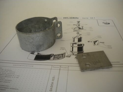 Del lorto SS 1 Float Bowl Mounting Clamp-NOS