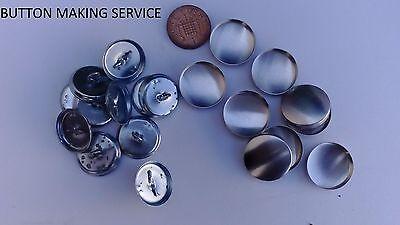 Botón de tapicería que cubre servicio 30L//19mm 10 Botones Cubierto Alambre Bucle