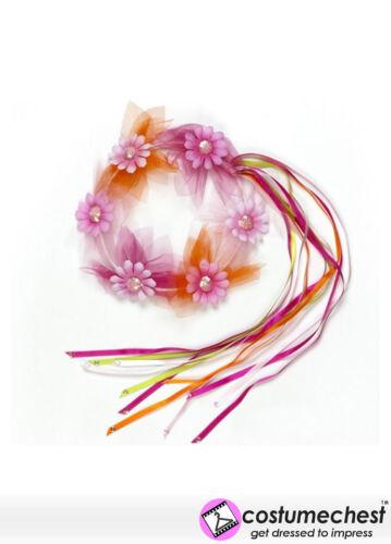 Alone di fiori HEADDRESS ARTICOLI BAMBINO COSTUME ACCESSORIO DA SOUZA per bambini.