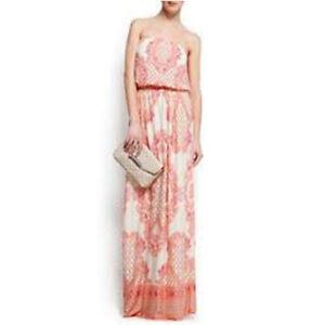 Kleid Paisley Muster Taillen Bindeband Glockenarmel