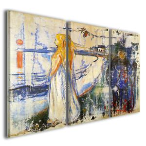 Quadri famosi Munch Edvard Separazione stampe su tela canvas famose ...