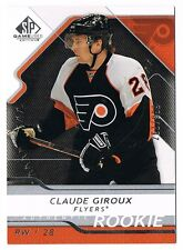 2008-09 SP Game-Used Authentic Rookie #112 Claude Giroux 263/999 !! RC