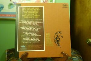 Nat-King-Cole-Story-In-Stereo-Capitol-SWCL-1613-1960-First-Press-3-LPs-amp-Book