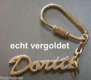 Bekomme Eins Gratis Edler SchlÜsselanhÄnger Dorit Vergoldet Gold Name Keychain Weihnachtsgeschenk Kaufe Eins Büro & Schreibwaren