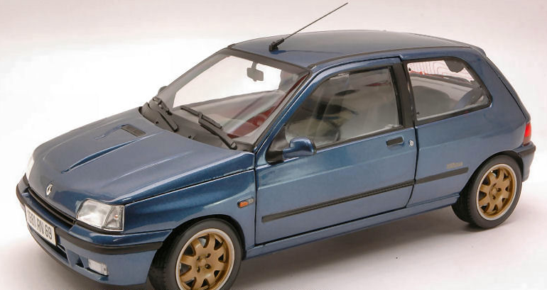 RENAULT CLIO WILLIAMS 1993 BLEU 1 18 185230 NOREV