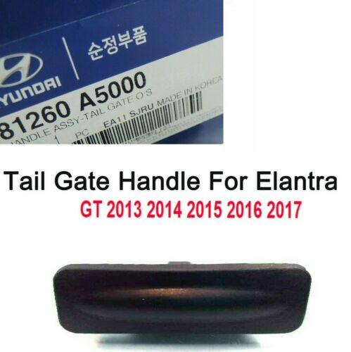 GENUINE TAILGATE OUTSIDE REAR TRUNK LID SWITCH CLICK HANDLE ELANTRA GT 2013-2017