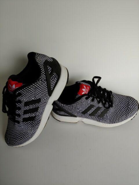 sports shoes 9ea7f f59b6 Adidas Torsion ZX Flux S82615 Black/White Running Men's Shoes Size 6.5