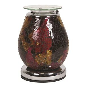Neptune-Touch-Mosaic-Electric-Wax-Warmer-Burner-amp-pack-of-10-Scented-Melts-3150