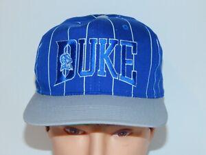 bacf929cd6377 VTG 1990 s DUKE Blue Devils Starter The Classic Striped Snapback Hat ...
