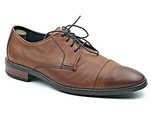 dd9a12740241 Cole Haan Grand.OS Mens Brown Leather Cap Toe Oxford Lenox Hill ...