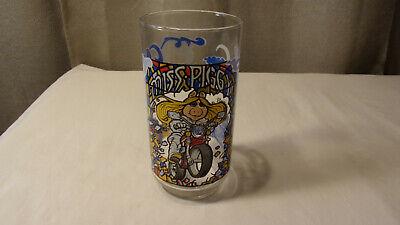 Miss Piggy Details about  /Vintage 1981 McDonalds Glass