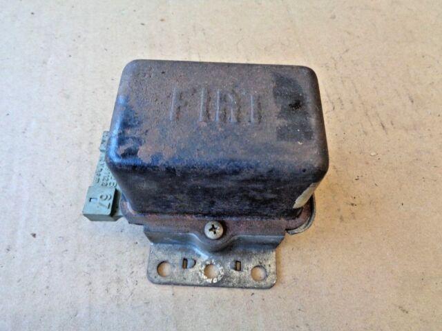 Fiat Autobianchi A111 Lichtmaschinenregler 12Volt Generator Voltage Regulator