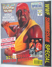 WWE / WWF SUPERSTARS SUMMERSLAM POSTER SPECIAL / VOL 2 NO 5 / THE BUSHWACKERS