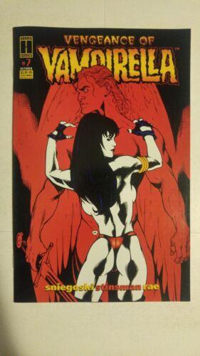 Vengeance Of Vampirella #4 July 1994 Harris Comics Sniegoski Antomattei Weems
