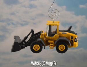 Bulldozer christmas ornament personalized free boys etsy