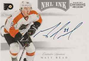 MATT-READ-2011-12-PANINI-CONTENDERS-NHL-INK-AUTO-AUTOGRAPH-FLYERS