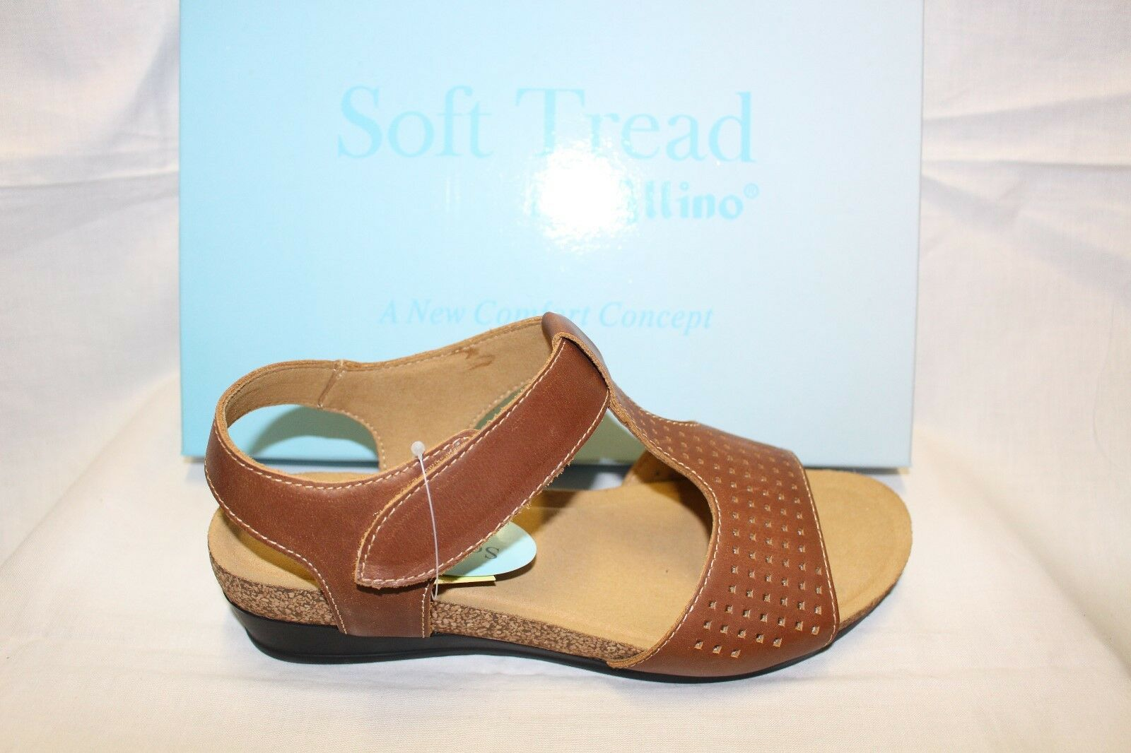 LADIES SHOES/FOOTWEAR - Allino Sandal Soft tread Biento Tan