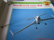 Fliegen 16: Karte 25 Rutan VariEze, Long Eze
