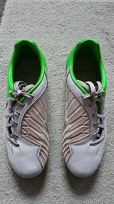 Fußballstiefel Nike T 90, Gr.: US 7,5/Farbe weiß/grün