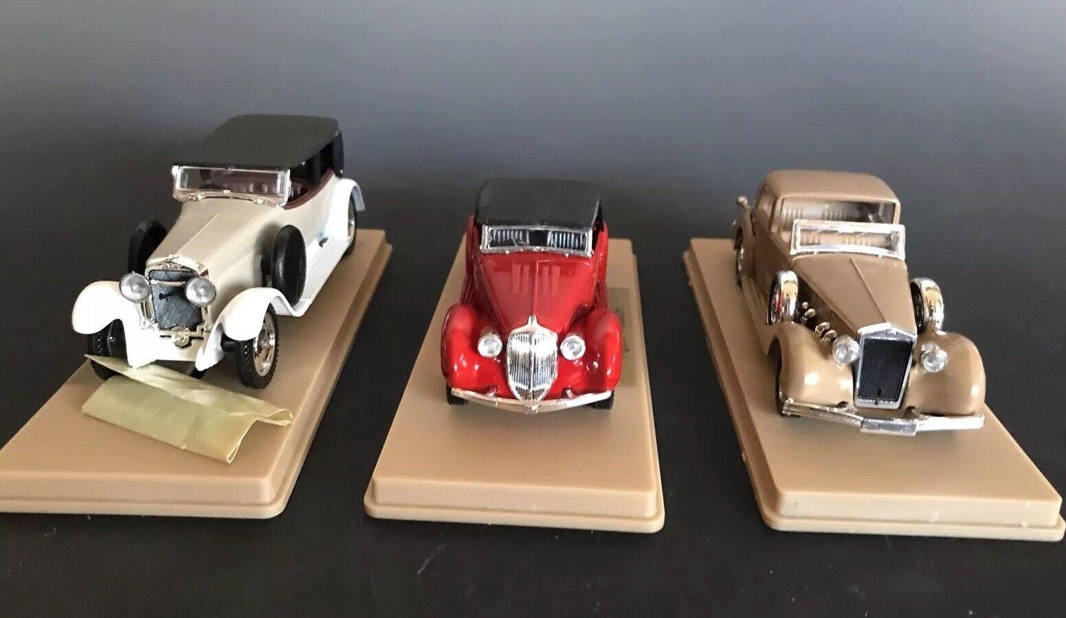 Solido Age D 'or Lote of.3 Colección Cars  1162, 1162, 1162, 1151, 1148 Con Cajas Originales e72b7f